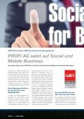 Social und Mobile Business - PROFI Engineering Systems AG - Seite 4