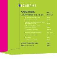sommaire - Université de Bourgogne