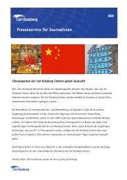 Presseservice für Journalisten - Carl Duisberg Centren