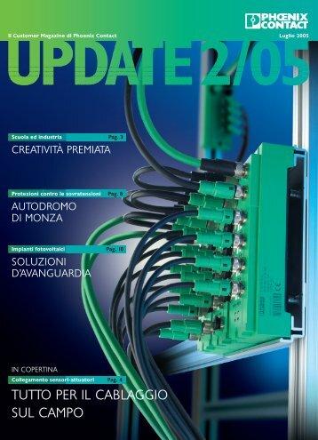 Scarica il PDF del nuovo numero di UPDATE! - Phoenix Contact Italia
