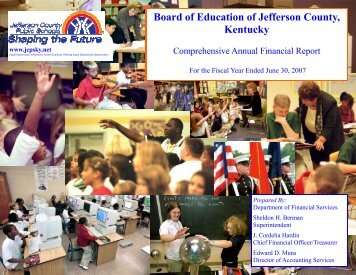 Cover 2.pub - Jefferson County Public Schools