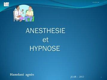Hypnose en anesthésie - JLAR