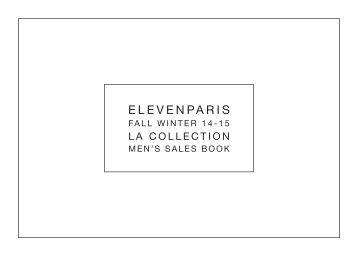 ELEVENPARIS FW1415-COLLECTION MEN