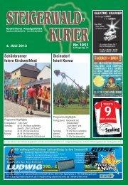 Ausgabe 1051 - Steigerwald-Kurier
