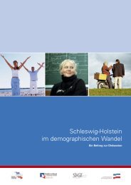 Schleswig-Holstein im demographischen Wandel - Landesverband ...