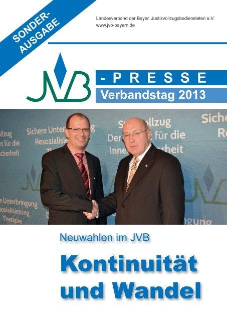Sonderausgabe April 2013 - JVB Landesverband der Bayerischen ...