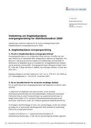 Vejledning - overgangsordning pdf 2009 - Kulturstyrelsen