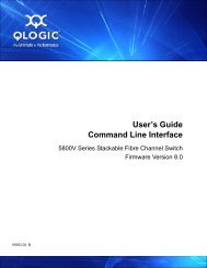 HP Virtual Connect Manager Command Line Interface User Guide