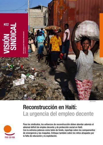 Visión Sindical: Haití - Observatorio RSE