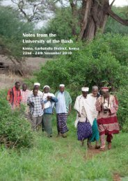 Notes from the University of the Bush - the Website of the Pastoralist ...