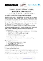 Modul 5 - Initiative zur sozialen Rehabilitation eV