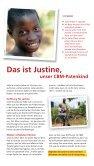 Das ist Justine, unser CBM-Patenkind - Christoffel-Blindenmission - Seite 2