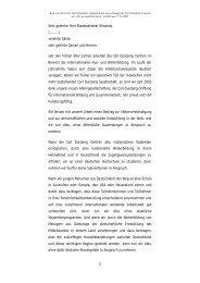 Rede - Carl Duisberg Centren