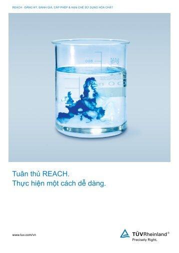 REACH Brochure - Tuv