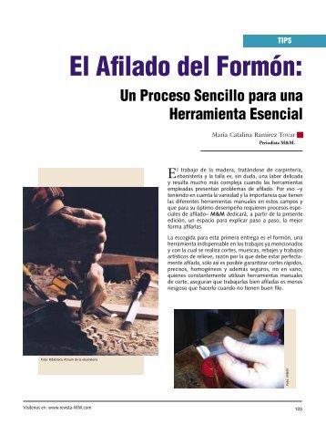 COPIA 9.indd - Revista El Mueble y La Madera
