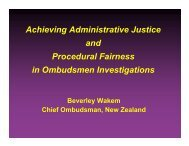 Beverley Wakem-Achie.. - Australian and New Zealand Ombudsman ...