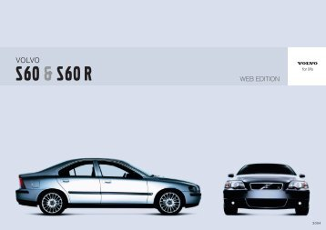 S60 & S60 R - ESD - Volvo