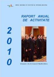 2010 - Biroul Naţional de Statistică