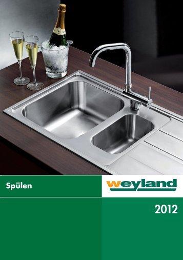 Spülen 2012 - Weyland GmbH
