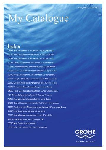 Technical Catalogue - Aquastudium