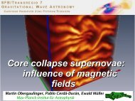 Core collapse supernovae: influence of magnetic fields