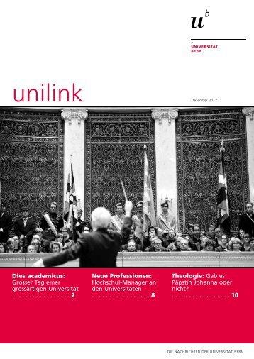unilink Dezember herunterladen (pdf, 905KB) - Abteilung ...