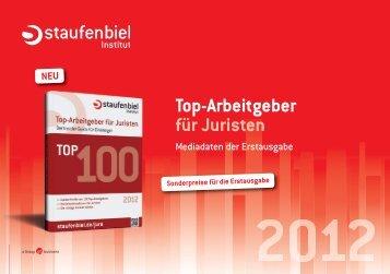 Top-Arbeitgeber für Juristen - Staufenbiel.de