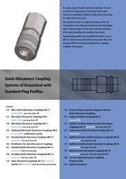 Quick-Disconnect Couplings