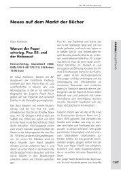 Klaus Kühlwein: Warum der Papst schwieg. Pius XII. und der ...
