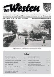 Der Westen 1-2 2013.indd - Die Gesellschaft - Elsaß und Lothringen