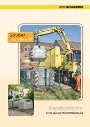 Depotcontainer - SSI Schäfer