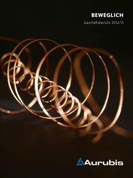 Geschäftsbericht 2012/13 - Aurubis