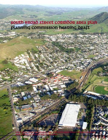 South Broad Street Corridor Plan - the City of San Luis Obispo