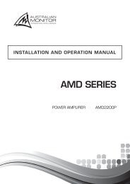 AMD SERIES - SDS Music Factory AG