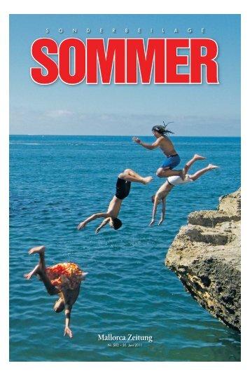 Sonderbeilage Sommer - Mallorca Zeitung