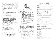 Summer Track and Field Clinic 2013 - Barrington High School