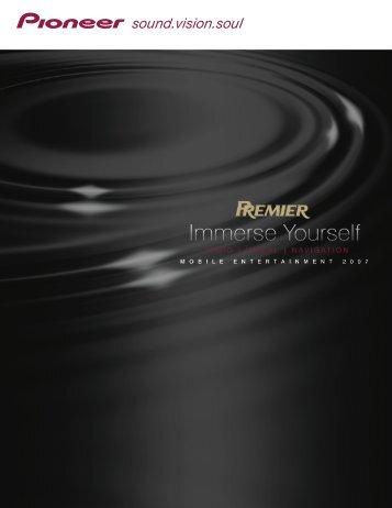 NEW - Pioneer Electronics
