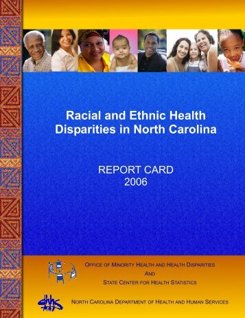 Report Card 2006 - State Center for Health Statistics