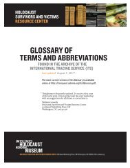 ITS ONGOING GLOSSARY of TERMS AND ABBREVIATIONS