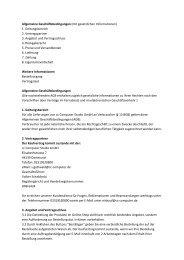 Allgemeine Geschäftsbedingungen (mit ... - cc Computer Studio Gmbh