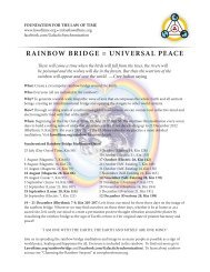 Rainbow Bridge - Press Release - Foundation for the Law of Time