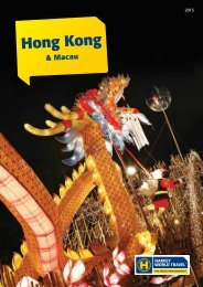 Hong Kong - Harvey World Travel
