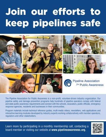 Download 2012 PAPA brochure - Pipeline Association for Public ...