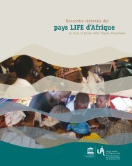 pays LIFE d'Afrique - UNESCO Institute for Lifelong Learning