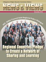Magazine NOVEMBER 2010 - Higher Education Commission