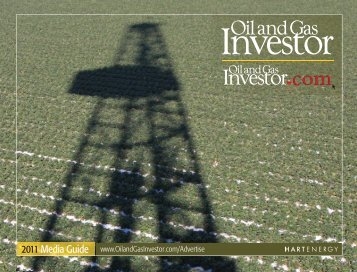 2011 Media Guide - Oil and Gas Investor