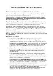 Haushaltsrede 2012 der CDU Fraktion ... - Stadt Bergneustadt
