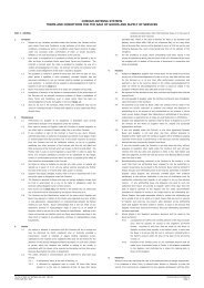 cobham antenna systems terms and conditions for the ... - Cobham plc