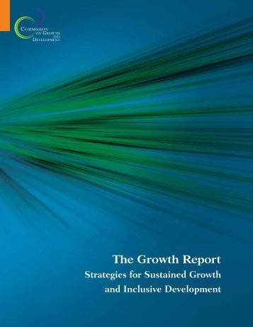 The Growth Report - Yale Center for the Study of Globalization