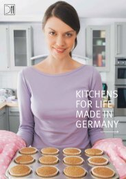 KITCHENS FOR LIFE MADE IN GERMANY - Produkte24.com